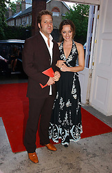 Designer ALICE TEMPERLEY and her husband LARS VON BENNIGSEN at a party to celebrate the opening of Roger Vivier in London held at The Orangery, Kensington Palace, London on 10th May 2006.<br /><br />NON EXCLUSIVE - WORLD RIGHTS