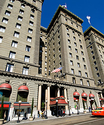 California, San Francisco: The Westin St. Francis at Union Square, an icon of the San Francisco hotel world .Photo #: 10-casanf79225.Photo © Lee Foster 2008