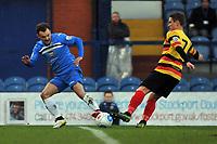 Danny Lloyd. Stockport County FC 2-0 Bradford Park Avenue. Buildbase FA Trophy. 26.11.16