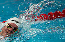 October 5, 2018 - Budapest, Hungary - Papp Mark in the Mens 1500m Freestyle on day two of the FINA Swimming World Cup held at Duna Arena Swimming Stadium on Okt 05, 2018 in Budapest, Hungary. (Credit Image: © Robert Szaniszlo/NurPhoto/ZUMA Press)