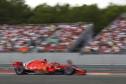 June 23, 2018 - Le Castellet, France - Motorsports: FIA Formula One World Championship 2018, Grand Prix of France, .#5 Sebastian Vettel (GER, Scuderia Ferrari) (Credit Image: © Hoch Zwei via ZUMA Wire)