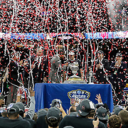 Jan 02, 2017  New Orleans,LA USA: Oklahoma Head coach Bob Stoops during trophy presentation the NCAA  Allstate Sugar Bowl football game between Auburn Tigers and the Oklahoma Sooners 35-19 win at Mercedes-Benz Superdome New Orleans, LA. Thurman James / CSM