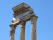Italy, Rome, Vesta temple in the forum