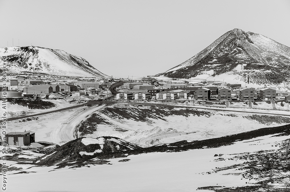 McMurdo from above the Discovery Hut