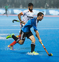 BHUBANESWAR -  Hockey World League finals , Semi Final . Argentina v India. Diego Paz (Arg)  COPYRIGHT KOEN SUYK