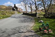 Village church, Buttermere, Cumbria, England, UK