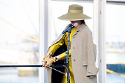 Koningin Maxima doopt de nieuwe sleephopperzuiger van Van Oord in Rotterdam. De doop van de Vox Amalia, vernoemd naar de oudste dochter van koningin Maxima en koning Willem-Alexander, staat in het teken van het 150-jarig bestaan van het baggerbedrijf. <br /> <br /> Queen Maxima christens Van Oord's new trailing suction hopper dredger in Rotterdam. The baptism of the Vox Amalia, named after the eldest daughter of Queen Maxima and King Willem-Alexander, is dominated by the 150th anniversary of thec