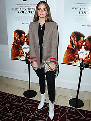 WEST HOLLYWOOD, LOS ANGELES, CA, USA - JANUARY 08: Los Angeles Special Screening Of Annapurna Pictures' 'If Beale Street Could Talk' held at The London West Hollywood at Beverly Hills on January 8, 2019 in West Hollywood, Los Angeles, California, United States. 08 Jan 2019 Pictured: Debby Ryan. Photo credit: Xavier Collin/Image Press Agency/MEGA TheMegaAgency.com +1 888 505 6342