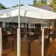 NLD/Laren/20150703 - Exclusive Mensclub Boccaccio in Laren, tuin, buitenzijde,