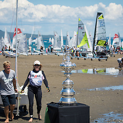 America's Cup visits Torbay Sailing Club<br /> Sunday 3 December 2017