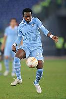 Ogenyi Onazi  (Lazio)<br /> 08/11/2012 Roma, Stadio Olimpico<br /> Europa League<br /> Lazio vs Panathinaikos<br /> Foto Antonietta Baldassarre Insidefoto