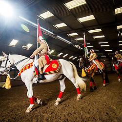 The Jordian calvary at their stables in Tower Farm, Edinburgh