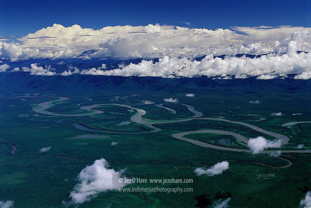 Taritatu / Idenburg river, Rouffaer reserves, Sarmi-Tolikara, Papua, Indonesia.