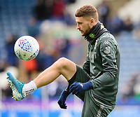 Leeds United's Mateusz Klich during the pre-match warm-up <br /> <br /> Photographer Chris Vaughan - CameraSport<br /> <br /> The EFL Sky Bet Championship - Huddersfield Town v Leeds United - Saturday 7th December 2019 - John Smith's Stadium - Huddersfield<br /> <br /> World Copyright © 2019 CameraSport. All rights reserved. 43 Linden Ave. Countesthorpe. Leicester. England. LE8 5PG - Tel: +44 (0) 116 277 4147 - admin@camerasport.com - www.camerasport.com