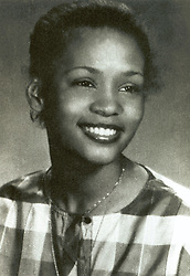 June 1, 1981 - Caldwell, New Jersey, U.S. - Singer WHITNEY HOUSTON - senior high school yearbook photo at Mount Saint Dominic Academy. On Feb. 11, 2012 Grammy-winning singer Whitney Houston, who was often referred to as the 'Queen of Pop,' and whose career was derailed by drug abuse, has died. She was 48.(Credit Image: © Mount Saint Dominic Academy/ZUMAPRESS.com)