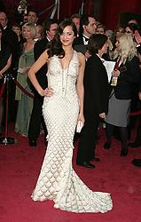 Feb 24, 2008 - Hollywood, California, USA - MARION COTILLARD at the 80th Annual Academy Awards held at the Kodak Theatre in Hollywood. (Credit Image: © Paul Fenton/ZUMAPRESS.com)
