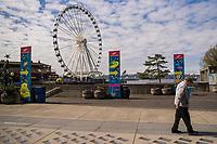 Waterfront Park (April 4, 2020).