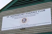 With renovations complete Kiwanians celebrate the 70th Anniversary of the Kiwanis Pool in St. Johnsbury Vermont.  Karen Bobotas / for Kiwanis International