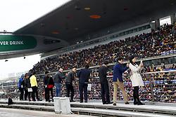 April 14, 2018 - Shanghai, China - Shanghai: Motorsports: Formula 1 2018 Heineken Chinese Grand Prix.Chinese Formula One Grand Prix Shanghai Circuit April 08, 2018 in Shanghai, China. (Credit Image: © Hoch Zwei via ZUMA Wire)