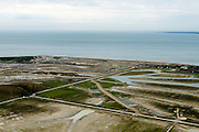 Nederland, Zeeland, Zeeuws-Vlaanderen, 19-10-2014; grondwerk voor de aanleg van Waterdunen, een groot natuur- en recreatiegebied.<br /> Groundwork for the construction of Waterdunen, a large nature and recreation.<br /> luchtfoto (toeslag op standard tarieven);<br /> aerial photo (additional fee required);<br /> copyright foto/photo Siebe Swart