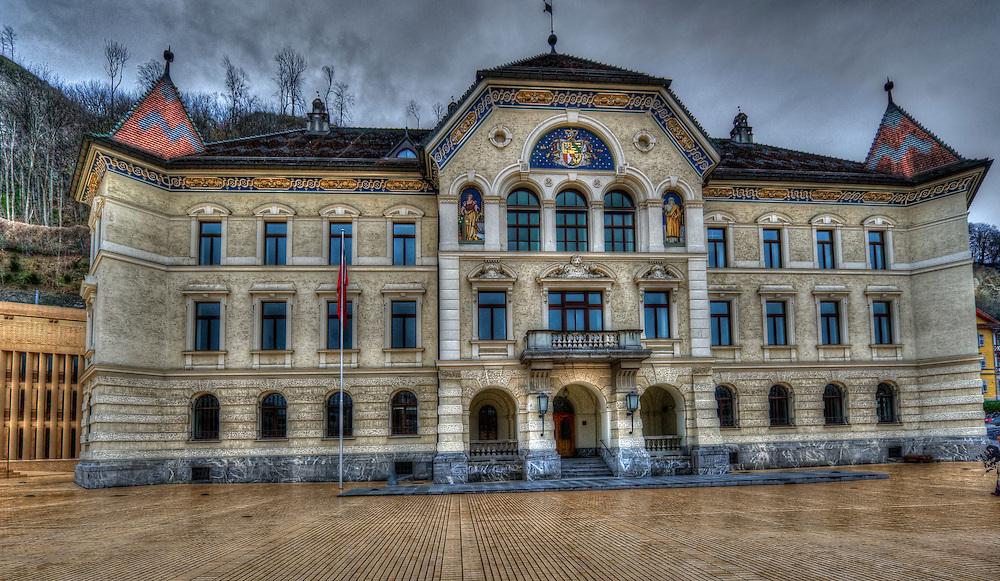Lichtenstein parliament building