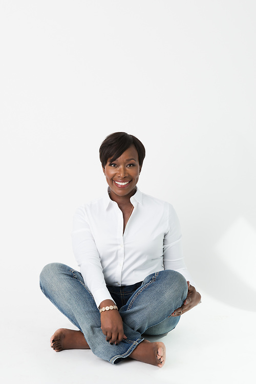 Portrait of MSNBC host Joy Reid, photo by Tony Gale
