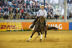 Stein Oliver, (GER), Timbers Whizzer<br /> Reining individual<br /> European Championships - Aachen 2015<br /> © Hippo Foto - Dirk Caremans<br /> 16/08/15