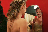 28 April 2006: Actress Sharon Case of The Young and The Restless in the exclusive behind the scenes photos of celebrity television stars in the STAR greenroom at the 33rd Annual Daytime Emmy Awards at the Kodak Theatre at Hollywood and Highland, CA. Contact photographer for usage availability.