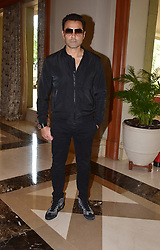 September 1, 2017 - Mumbai, Maharashtra, India - Indian film actors Bobby Deol pose during the promotion of upcoming film 'Poster Boys'at hotel JW Marriott, Juhu in Mumbai (Credit Image: © Azhar Khan/Pacific Press via ZUMA Wire)