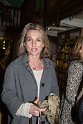 DAISY WAUGH,  Allie Esiri's The Love Book launch party , Daunt Books <br /> 83 Marylebone High Street, London. 5 February 2014