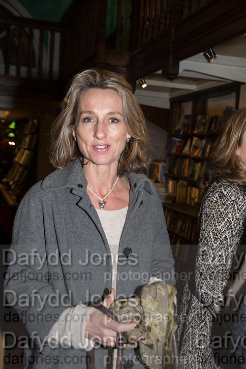 DAISY WAUGH,  Allie Esiri's The Love Book launch party , Daunt Books <br /> 83 Marylebone High Street, London. 5 February 2014