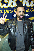 Bilal at The OkayPlayer Hoiliday Jammy presented by OkayPlayer and Frank Magazine held at BB Kings on December 18, 2008 in New York City..The Legendary Roots Crew gives back to fans with All-Star line-up of Special Guests to celebrate upcoming Holiday Season.