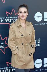 Edinburgh International Film Festival, Thursday, 21st June 2018<br /> <br /> JUROR PHOTOCALL<br /> <br /> Pictured: Sophie Skelton<br /> <br /> (c) Aimee Todd | Edinburgh Elite media