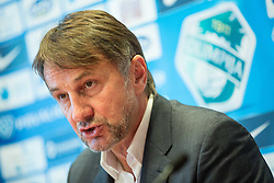 Ranko Stojic, director during press conference of NK Olimpija before new season 2015/16, on June 10, 2015 in Austria Trend Hotel, Ljubljana, Slovenia. Photo by Vid Ponikvar / Sportida