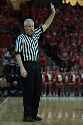 22 January 2014:  Thomas Eades during an NCAA Missouri Valley Conference mens basketball game between the Shockers of Wichita Stat and the Illinois State Redbirds  in Redbird Arena, Normal IL.