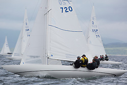 International Dragon Class Edinburgh Cup 2015.<br /> <br /> The first days racing in a strong southerly.<br /> <br /> GBR720, AIMEE, Julia Bailey, Royal Yacht Squadron<br /> <br /> <br /> Credit Marc Turner