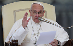 May 10, 2017 - Vatican City State (Holy See) - POPE FRANCIS during his wednesday general audience in St. Peter's Square at the Vatican  (Credit Image: © Evandro Inetti via ZUMA Wire)