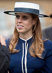 May 16, 2017 - London, London, United Kingdom - Image ©Licensed to i-Images Picture Agency. 16/05/2017. London, United Kingdom. Princess Beatrice at a Garden party at Buckingham Palace in London. Picture by ROTA  / i-Images UK OUT FOR 28 DAYS (Credit Image: © Rota/i-Images via ZUMA Press)