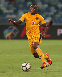 Tsepo Masilela of Kaizer Chiefs during the 2016 Premier Soccer League match between Kaizer Chiefs and Baroka FC held at the Moses Mabhida Stadium in Durban, South Africa on the 2nd November 2016<br /> <br /> Photo by:   Steve Haag / Real Time Images