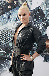 Lindsey Vonn at the World premiere of 'Fast & Furious Presents: Hobbs & Shaw' held at the Dolby Theatre in Hollywood, USA on July 13, 2019.