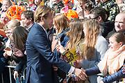 De koninklijke familie is in Zwolle voor de viering van Koningsdag. /// The royal family is in Zwolle for the celebration of King's Day.<br /> <br /> Op de foto / On the photo: Prins Floris