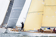 Mustang sailing in the Opera House Cup regatta.