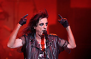 Alice Cooper performs in South Bend for the first time since 1975 Tuesday night at the Morris Performing Arts Center.