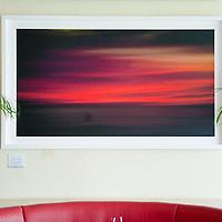 Cielo en Llamas. 180 x 100 cm. Papel algodón. Limited edition Fine Art Photography, pigment ink giclée print, dated and signed