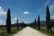Italy, Tuscany, Il Borro, resort, Spa, and winery, ownde by Ferragamo Family.