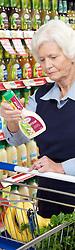 Women in supermarket, Jan, dressings