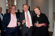 SIMON MORDANT; JOHN DAUTH; AUSTRALIAN HIGH COMMISSIONER; LADY LIDDELL FORMER HIGH COMMISSIONER TO AUSTRALIA, , MCA Sydney cocktails. Brandon rooms. ICA. London. 11 October 2011. <br /> <br />  , -DO NOT ARCHIVE-© Copyright Photograph by Dafydd Jones. 248 Clapham Rd. London SW9 0PZ. Tel 0207 820 0771. www.dafjones.com.