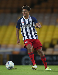 """West Bromwich Albion's Max Melbourne during the pre-season friendly match at Vale Park, Stoke. PRESS ASSOCIATION Photo. Picture date: Tuesday August 1, 2017. See PA story SOCCER Port Vale. Photo credit should read: Nick Potts/PA Wire. RESTRICTIONS: EDITORIAL USE ONLY No use with unauthorised audio, video, data, fixture lists, club/league logos or """"live"""" services. Online in-match use limited to 75 images, no video emulation. No use in betting, games or single club/league/player publications."""