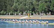 Sydney, Australia.  GBR M8+ Gold Medalist, Men's Eight, Bow Dan RITCHIE, Tom RANSLEY, Lance TWEDELL, Matt GOTREL, Mo SBIHI, Alex GREGORY, Pete REED, Andy TRIGGS HODGE ans Cox Phelan HILL.   FISA World Cup I. and  Sydney International Rowing Regatta. Sydney International Rowing Centre, Penrith Lakes, NSW. Sunday   24/03/2013 [Mandatory Credit. Peter Spurrier/Intersport Images]..