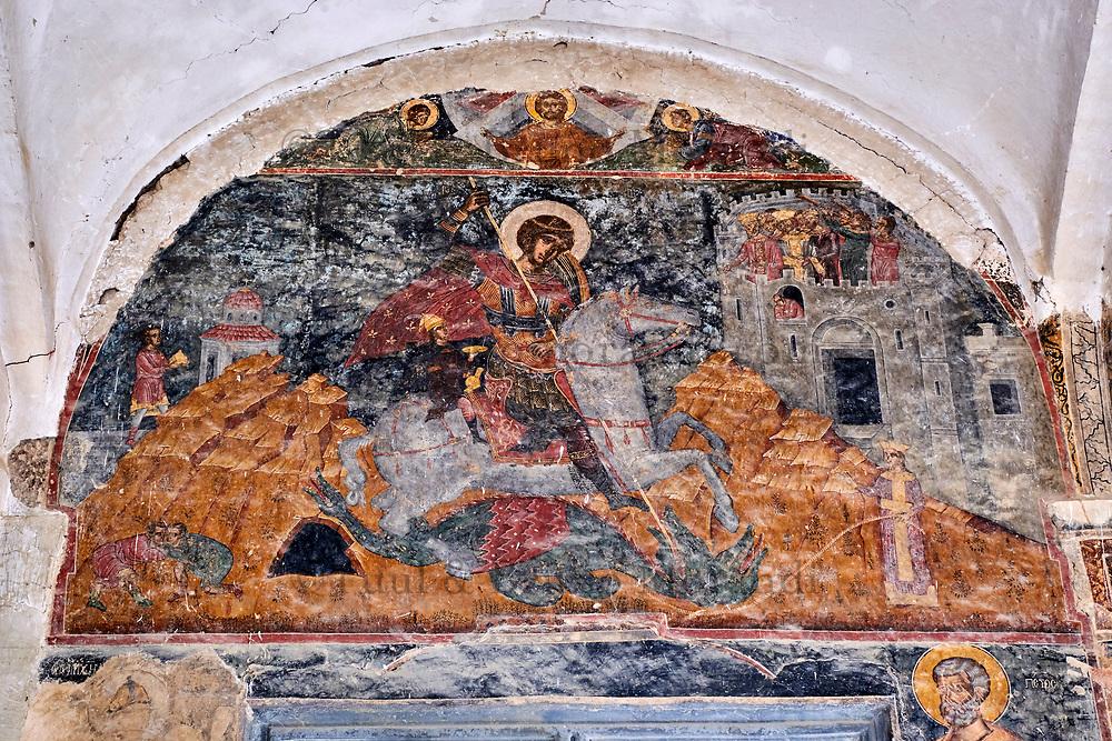Georgie, Caucase, région de Kakheti, environ de Telavi, monastère orthodoxe Alaverdi // Georgia, Caucasus, Kakheti region, Alaverdi monastery